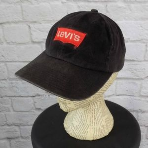 Levi's Black Denim Low Profile Baseball Cap